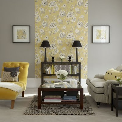 Decorating with gray campbell designs llc for Yellow and gray design