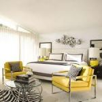 Gray and Yellow With Linear Elements